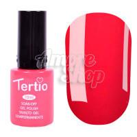 Гель-лак Tertio №085 (нежный розово-красный, эмаль), 10 мл