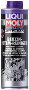Жидкость для очистки бензиновых систем впрыска Liqui Moly Pro-Line JetClean Benzin-System-Reiniger Konzentrat 0.5л