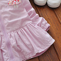 Ветровка с ушками на капюшоне для девочки, фото 2