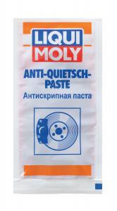 Антискрипная паста для супортов (красная) Liqui Moly Anti-Quietsch-Paste 0.01л