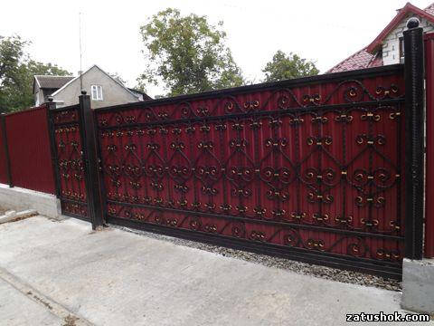 Ворота ковані тип 1б