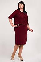 Женское платье больших размеров  Даниэль   52, 54,  56, 58, 60 оптом и в розницу