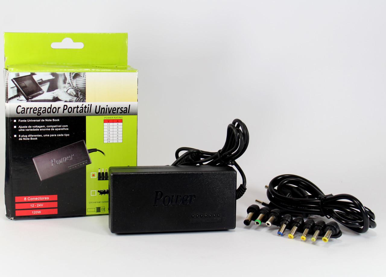 Адаптер универсальный для laptop 120W