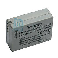 Аккумулятор для фотоаппарата Canon NB-10L, 1400 mAh.