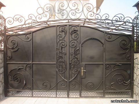 Ворота ковані тип 9б