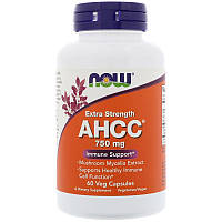 Иммуностимулятор AHCC, Now Foods, 750 мг, 60 капсул