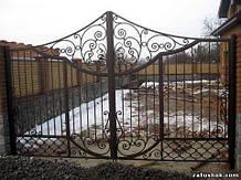 Ворота ковані тип 10а