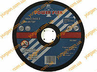 Отрезной абразивный диск POWER FLEX Ø 180х22х2 для резки металла.