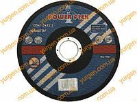 Отрезной абразивный диск POWER FLEX Ø 125х22х1 для резки металла.