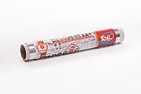 Фольга пищевая алюминиевая для гриля и запекания 6м/28см ПЛОТНАЯ Top Pack® настоящая намотка 30 мкм