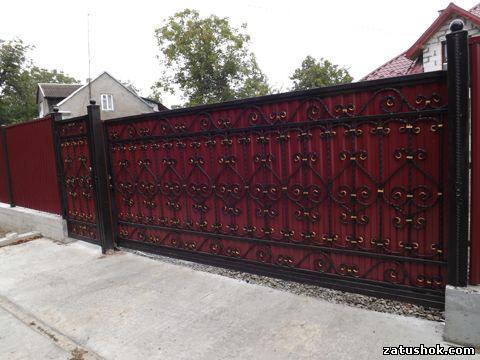 Ворота ковані тип 16