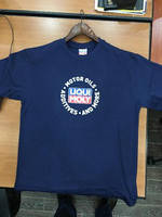 ФУТБОЛКА СИНЯ T-SHIRT EXPORT NAVY GROSSE L