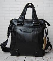 Кожаная мужская сумка Polo Videng Vintage в двух цветах ! Большая