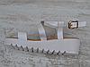 Босоножки танкетка переплет