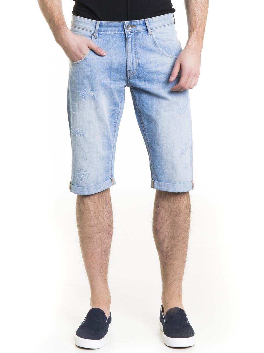 Шорты джинсовые мужские BS CONNER BERMUDAS 201 L BLUE