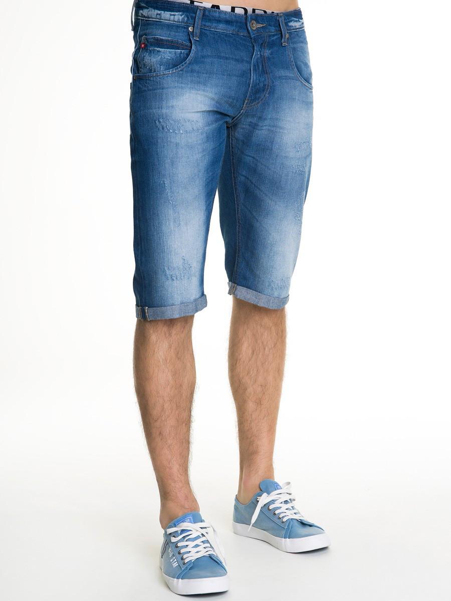 Шорты джинсовые мужские BS CONNER BERMUDAS 498 D BLUE