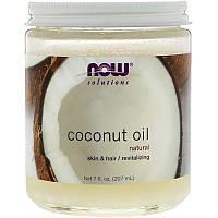 Кокосовое масло, Now Foods, органическое,  207 г, фото 1
