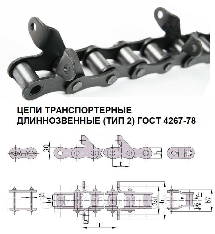 Цепи ТРД 38-3000-2-2-6-12