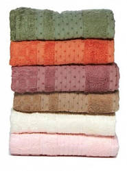 Полотенце Bambu Kirinkil 50*90 розовое Romeo Soft