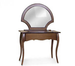 Стол-трюмо Камелия (без зеркала)  Модуль люкс, орех темный, фото 2