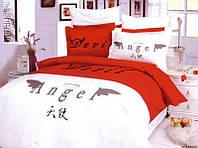 Комплект постельного белья 160*220 Devil@Angel Le Vele