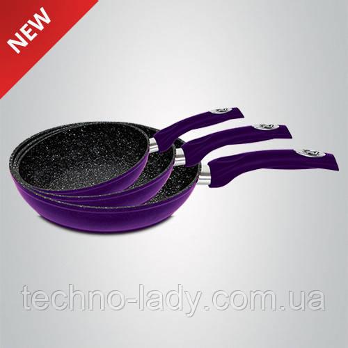 Набор сковородок Royalty Line Purple RL-FM3M 3 pcs