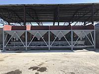 Бункер для инертных материалов четырех секционый, фото 1