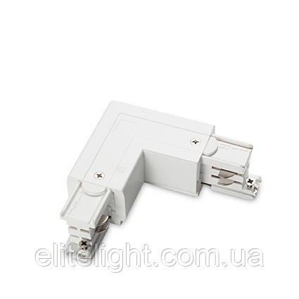 Разъем Ideal Lux LINK TRIMLESS L-CONNECTOR LEFT WHITE 169705