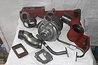 Переоборудования МТЗ на турбину ТКР-6, Установка турбины, фото 1