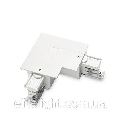 Разъем Ideal Lux LINK TRIM L-CONNECTOR RIGHT WHITE 188096