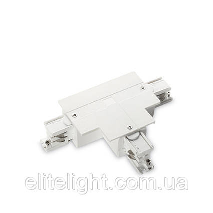 Разъем Ideal Lux LINK TRIM T-CONNECTOR LEFT WHITE 188157