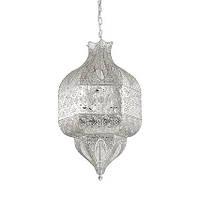 Подвесной светильник Ideal Lux NAWA-1 SP8 ARGENTO 141954