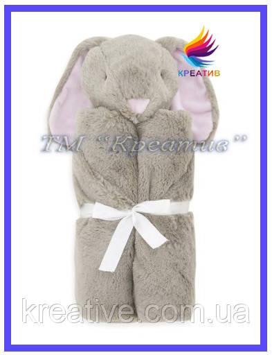 Трансформер 3 в1 (плед, подушка, игрушка) Зайка под заказ (от 50 шт.)