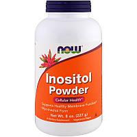 Инозитол, Inositol Powder, Now Foods, порошок, 227 г.