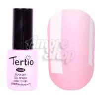 Гель-лак Tertio №098 (бледный розово-оранжевый, эмаль), 10 мл