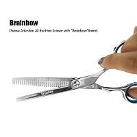 Ножниц парикмахерские ножницы филировочные для стрижки 6 дюймов Brainbow