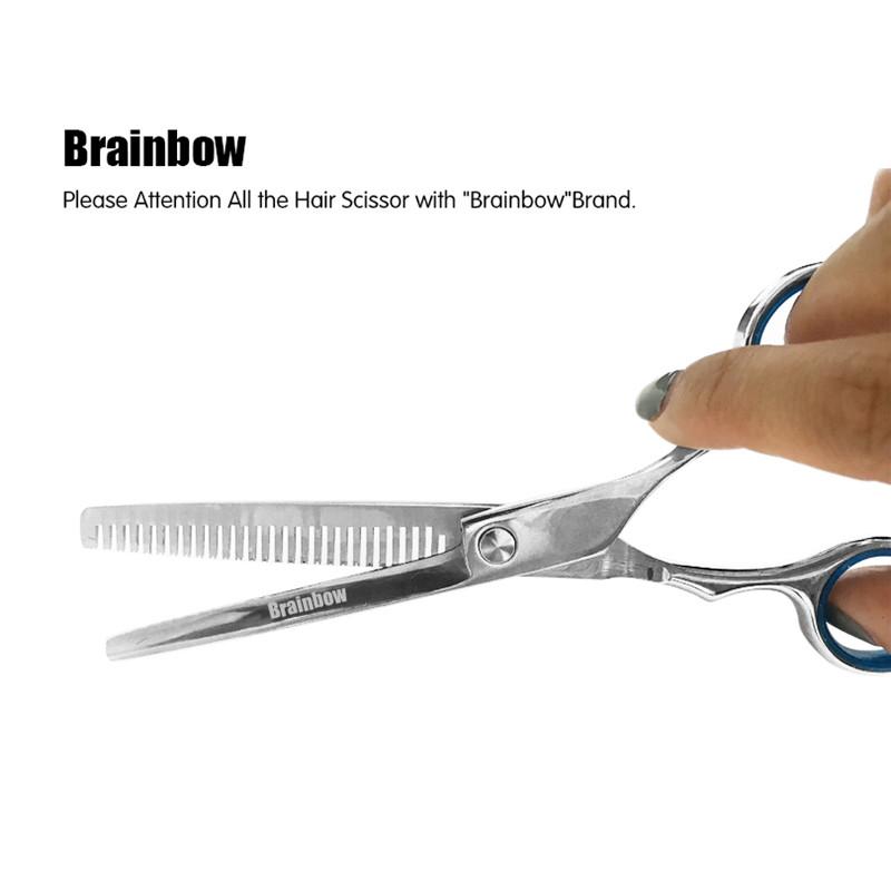 Ножниц парикмахерские ножницы филировочные для стрижки 6 дюймов Brainb
