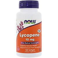 Ликопин, Lycopene, Now Foods, 120 капсул, фото 1