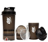 Optimum Nutrition Shaker 3 in 1 with metal ball 600 ml