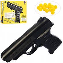 Пистолет 0621 на пульках 15см