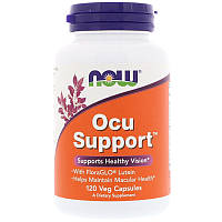 Витамины для зрения, Ocu Support, Now Foods, 120 капсул