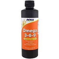 Омега 3 6 9 (Omega 3-6-9), Now Foods, 473 мл.