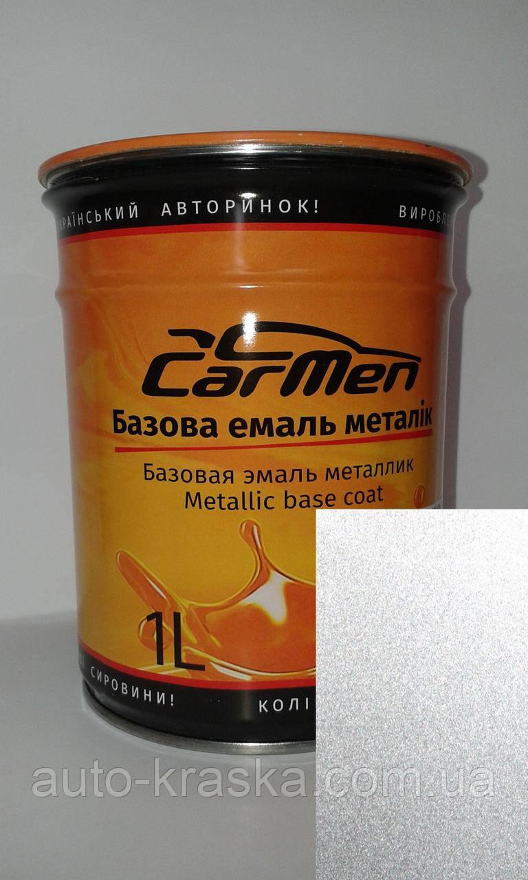 Автокраска CarMen 690 Снежная Королева металлик 0,1л.