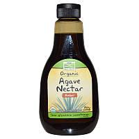 Янтарный нектар голубой агавы, Agave Nectar, Now Foods, 660 г.