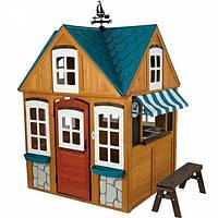 Деревянный дом с кухней KIDKRAFT Seaside Cottage 00402, фото 1