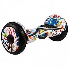 Гироборд (гироскутер) Smart Balance Premium 10.5 Wheel АО ТАО Самобаланс + APP, Граффити Белое