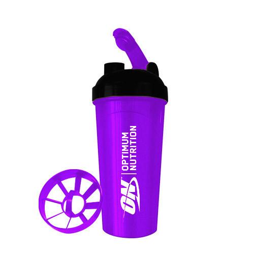 Optimum Nutrition Shaker ON 700 ml black/purple