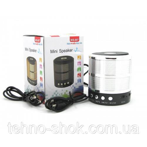 Колонка с Bluetooth WS-887