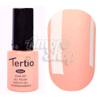 Гель-лак Tertio №104 (светлый оранжевый, эмаль), 10 мл