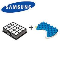 ✅Набор фильтров HEPA11 + поролоновый (под колбу) для пылесоса Samsung